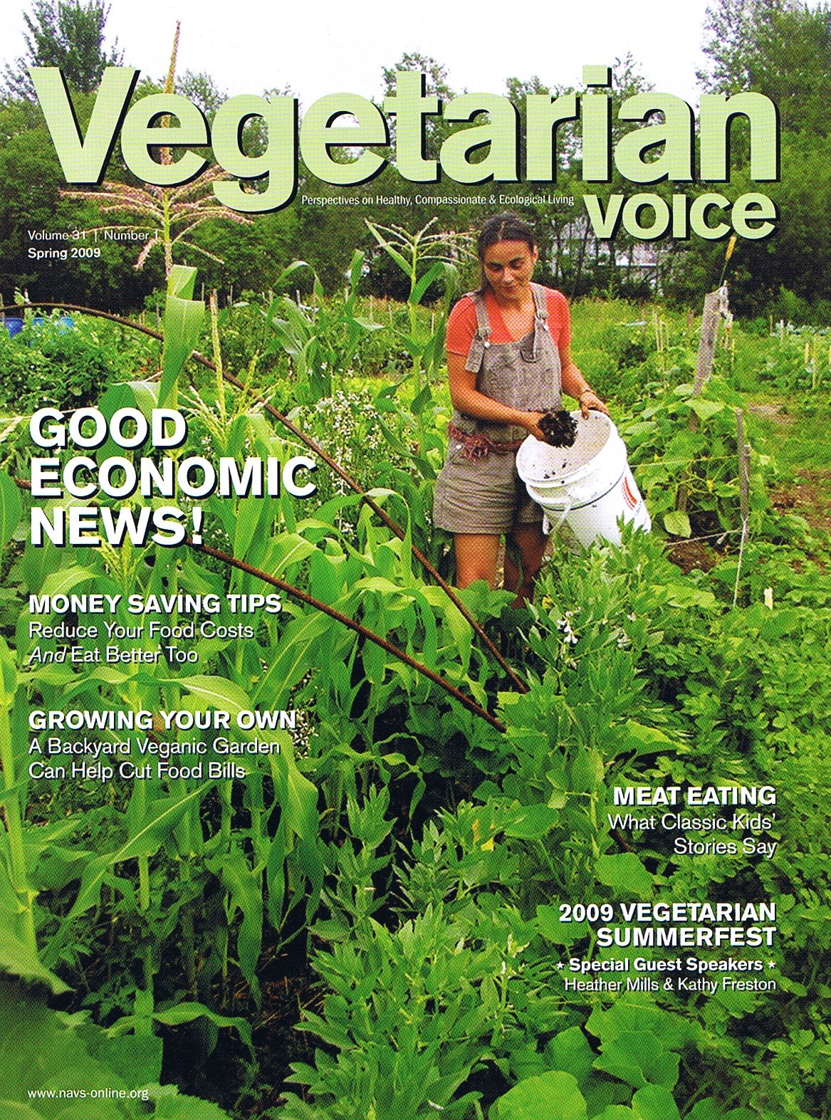 from monoculture to horticulture article in vegetarian voice